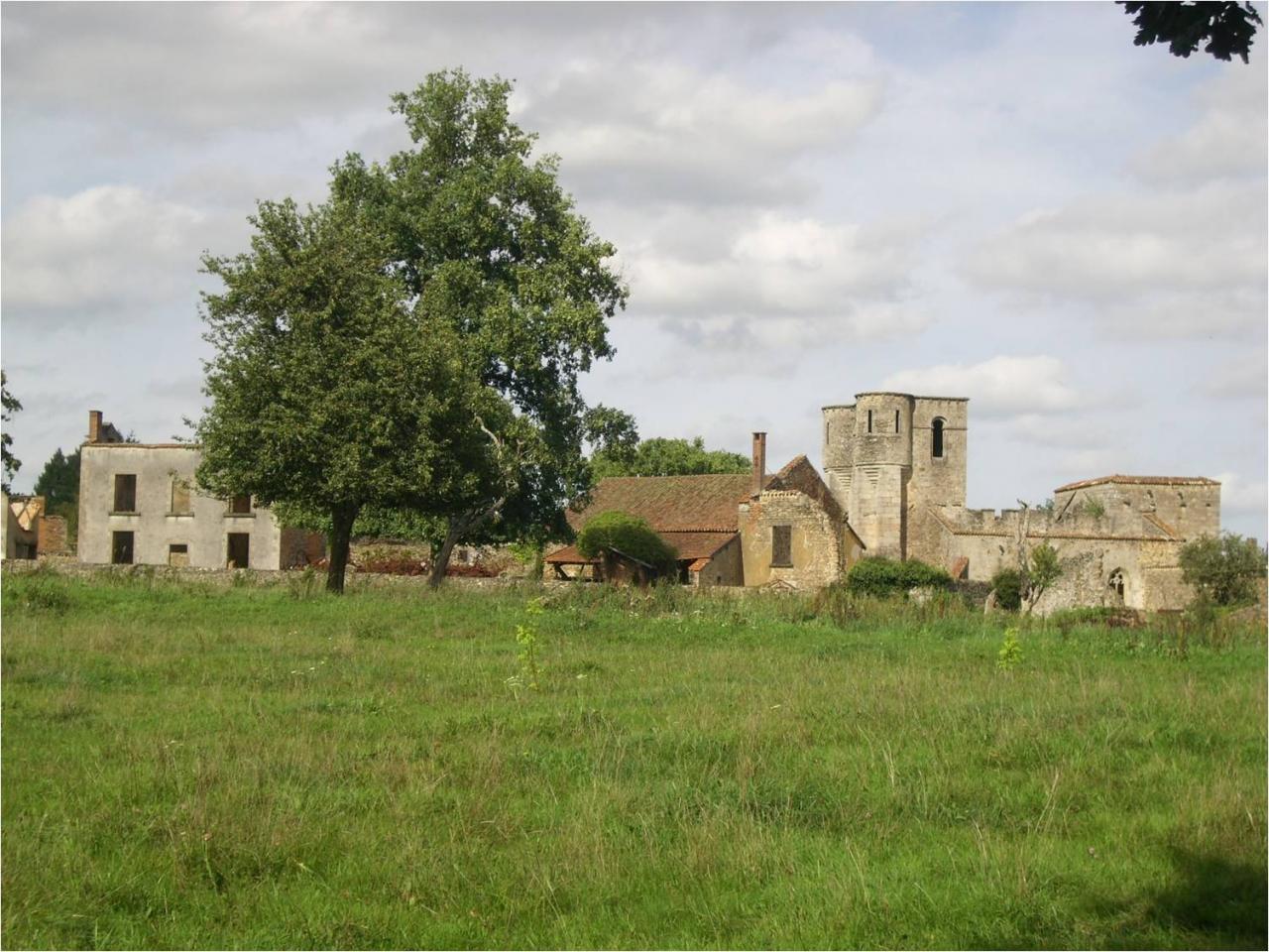 Oradour-village martyr